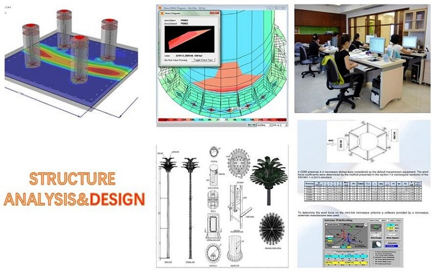 Tower Fabrication Services : Services tower fabrication telecom design