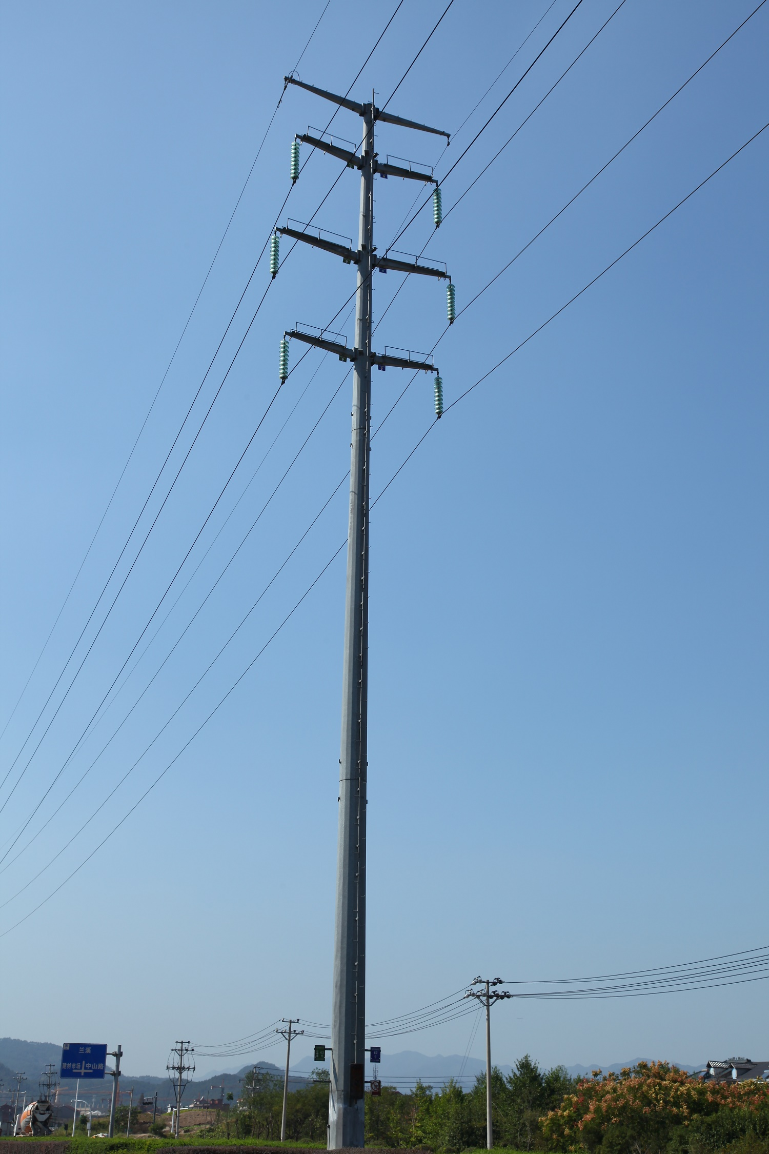 Power Distribution Poles